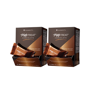Picture of Plus One Promo - 2 Boxes Triple Treat Chocolate 20 Count
